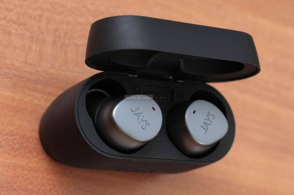 Jays m-Seven True Wireless Bluetooth fülhallgató dokkoló