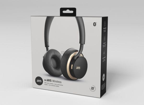 Jays u-JAYS Wireless Bluetooth fejhallgató doboz