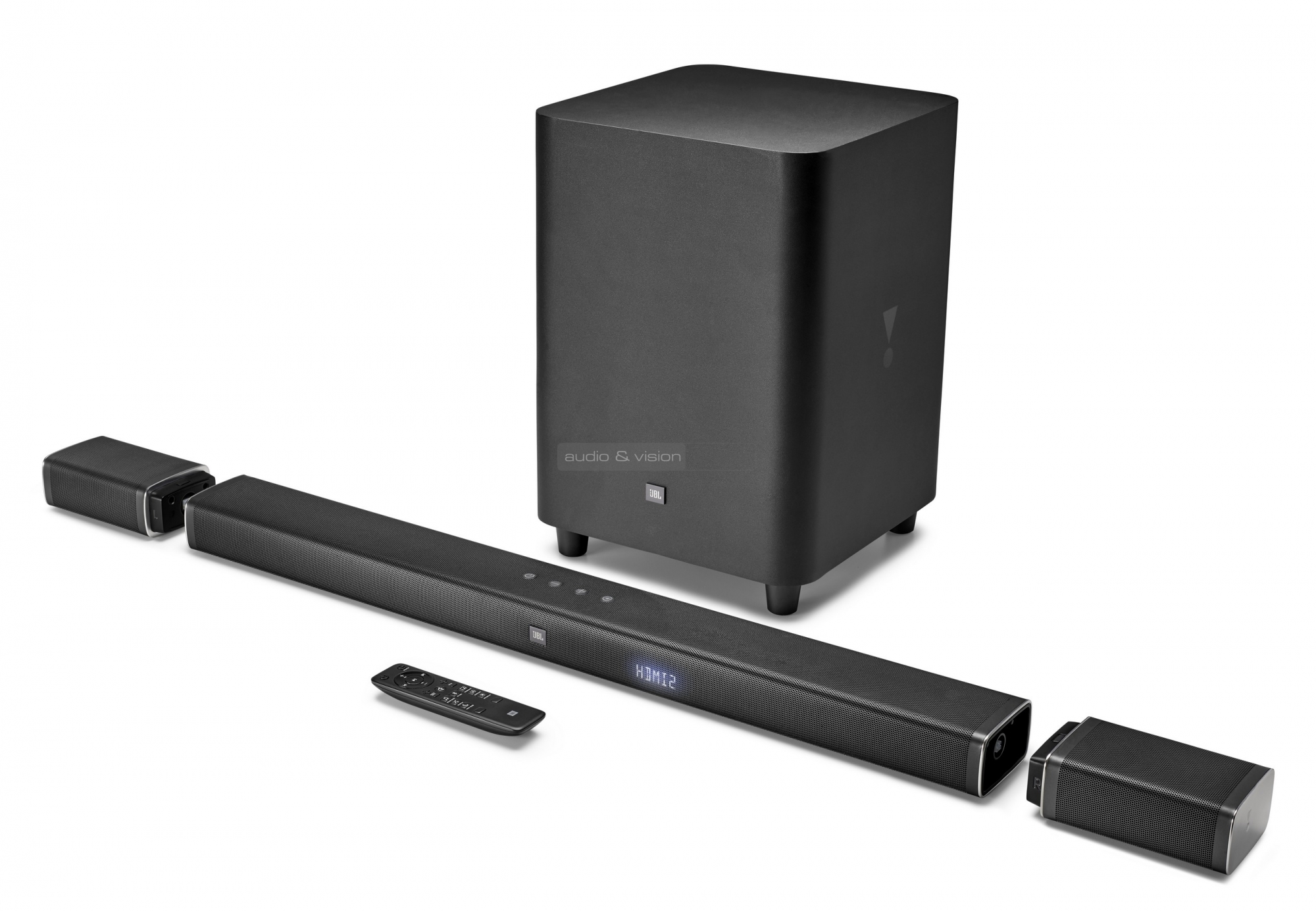 jbl bar 5 1 soundbar teszt av. Black Bedroom Furniture Sets. Home Design Ideas
