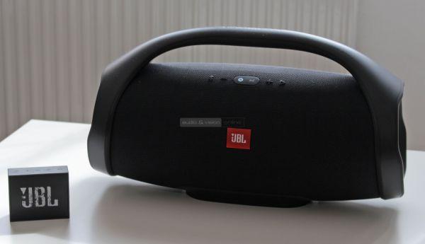 JBL Boombox és JBL GO Bluetooth hangszórók