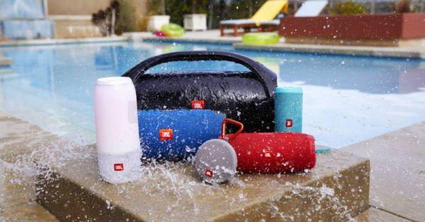 JBL vízálló Bluetooth hangszórók