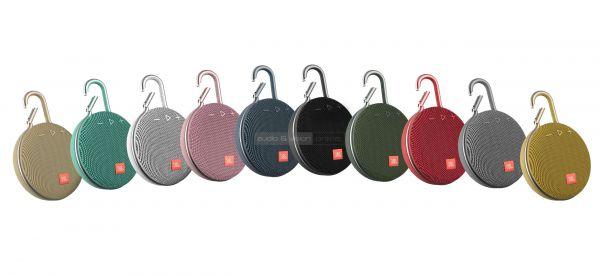 JBL Clip 3 Bluetooth hangszóró színek