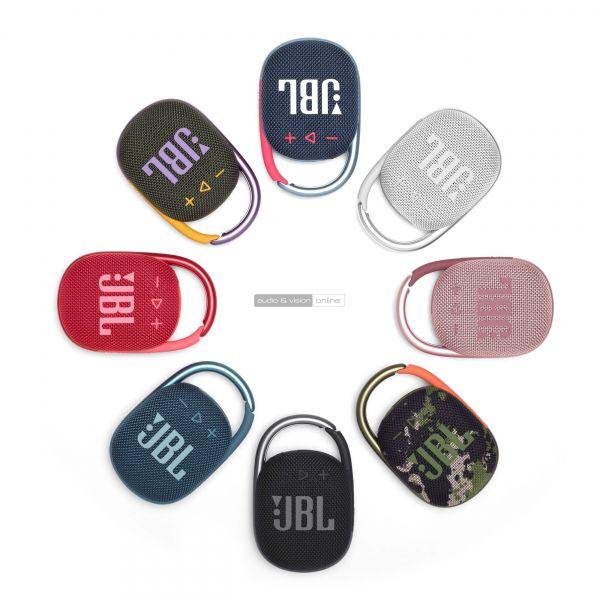 JBL Clip 4 Bluetooth hangszóró színek