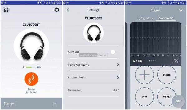 JBL CLUB 700BT App