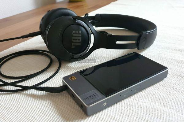 JBL CLUB 700BT Bluetooth fejhallgató FiiO X7