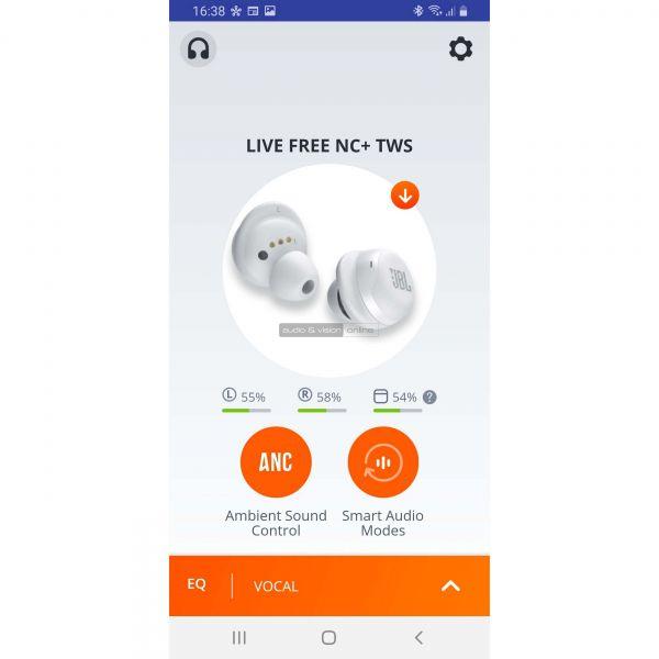 JBL FREE NC+ App