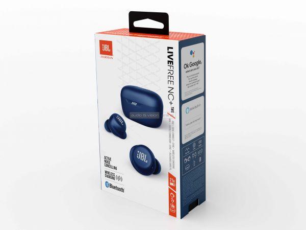 JBL FREE NC+ TWS Bluetooth fülhallgató doboz
