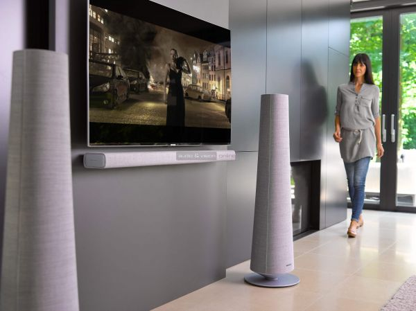Harman Kardon Citation Tower hangfal és Citation Bar soundbar