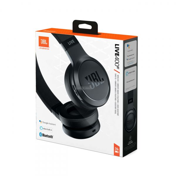 JBL LIVE 400BT Bluetooth fejhallgató doboz