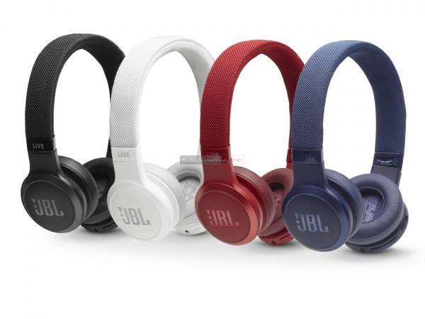 JBL LIVE 400BT Bluetooth fejhallgató színek