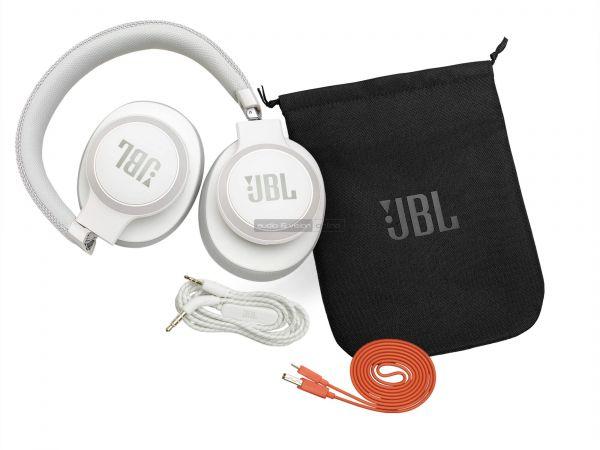 JBL LIVE 650BTNC aktív zajzáras Bluetooth fejhallgató tarozékok