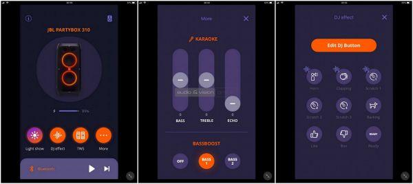 JBL PartyBox 310 App