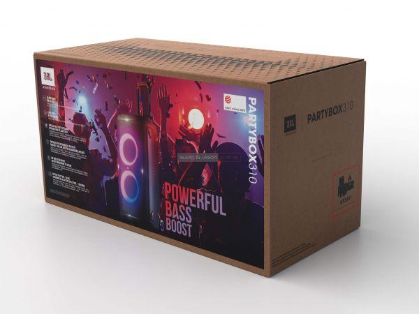 JBL PartyBox 310 parti hangszóró doboz