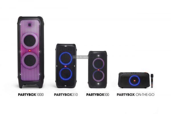 JBL PartyBox hangfalcsalád