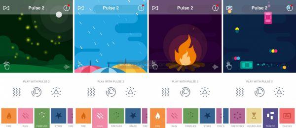 JBL Connect App JBL Pulse 2 világítás