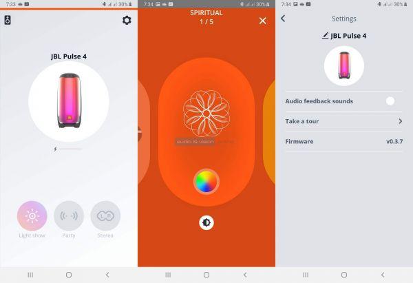 JBL Pulse 4 App