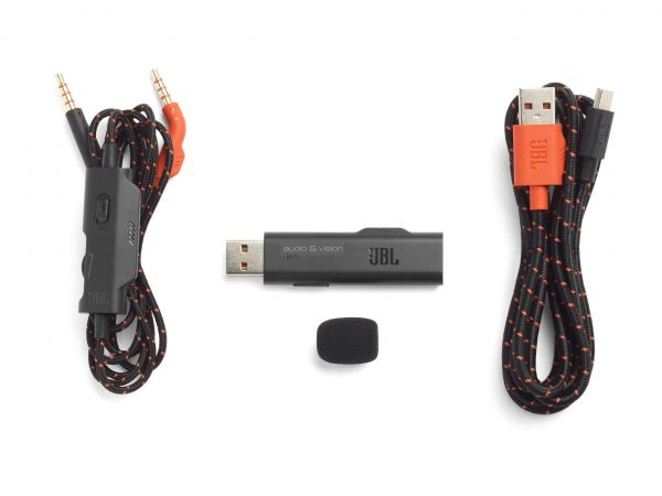 JBL Quantum 800 gamer headset kábel