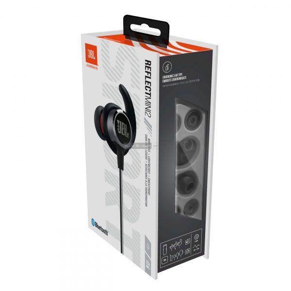JBL Reflect Mini 2 Bluetooth sportfülhallgató doboz