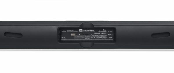 JBL SB250 soundbar hátlap