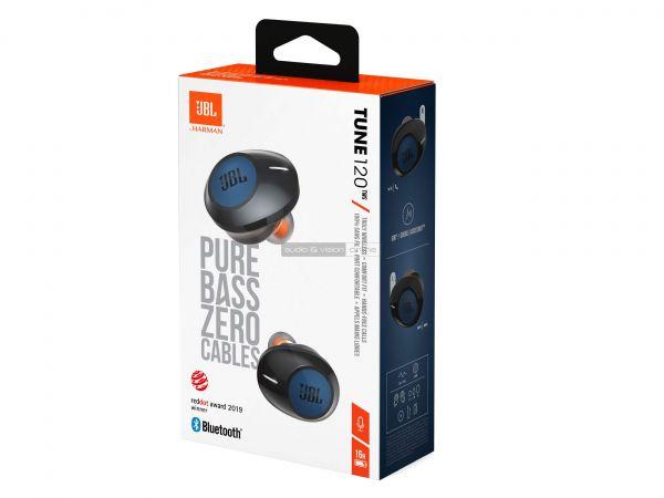 JBL TUNE 120TWS Bluetooth fülhallgató doboz