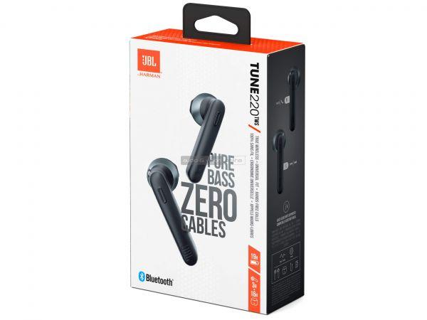 JBL TUNE 220TWS Bluetooth fülhallgató doboz