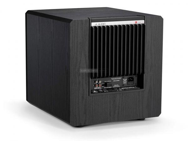JL Audio E-Sub e112 aktív mélyláda hátlap