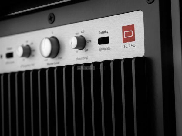 JL Audio Dominion D108 mélyláda hátlap