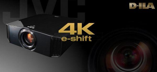JVC 4K e-shift házimozi projektor