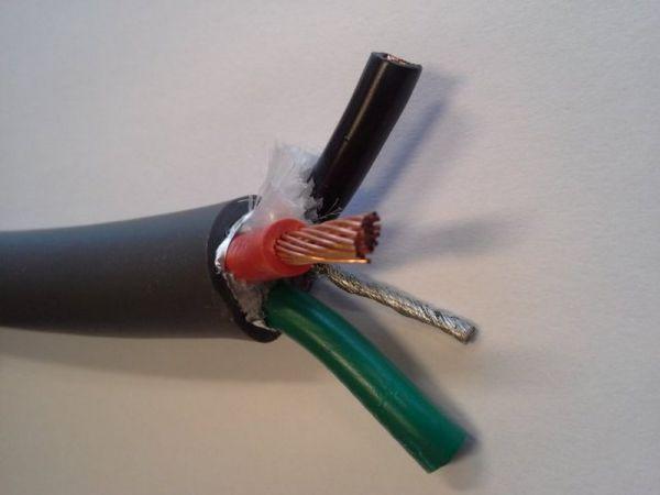 KáCsa FlexPower KC-FP52 tápkábel