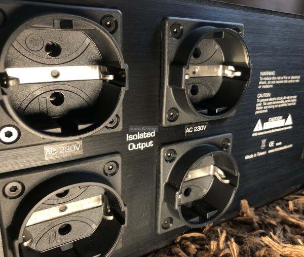 KECES Audio BP-1200 tápszűrő hátlap