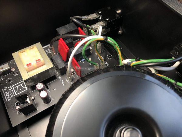 KECES Audio BP-1200 tápszűrő