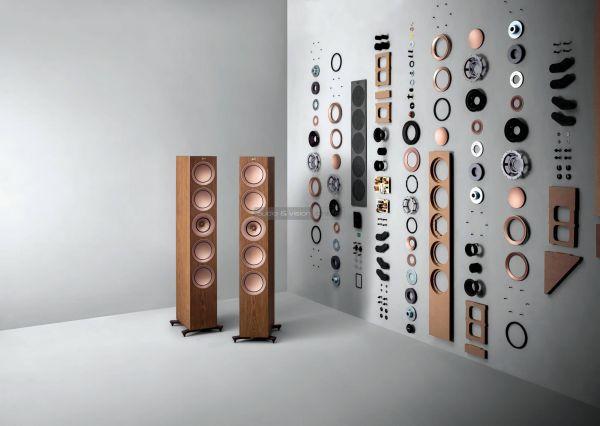 KEF R szériás hangfalak