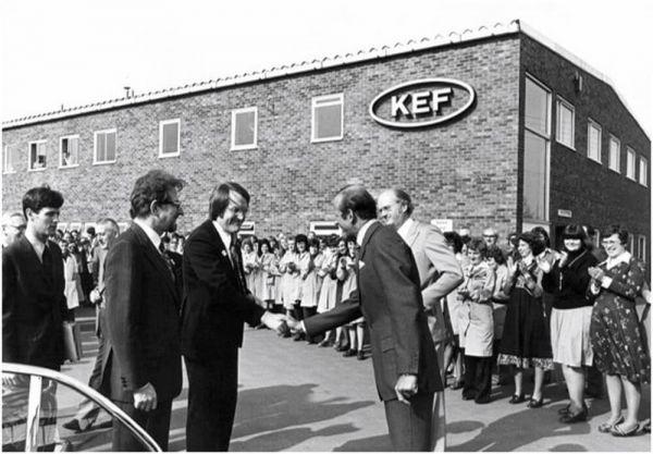 KEF hangfalgyár Maidstone