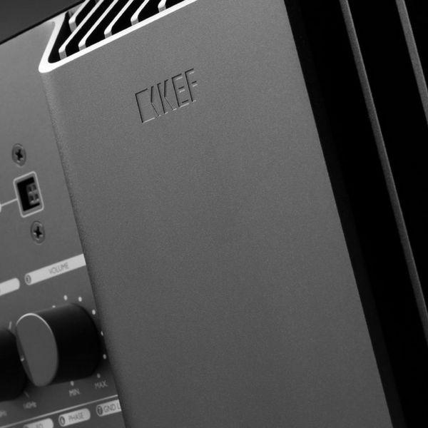 KEF KF92 aktív mélyláda hátlap