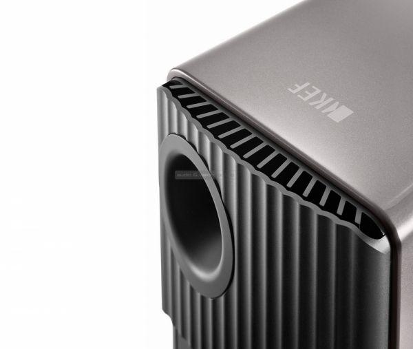 KEF LS50 Wireless aktív hangfal hátlap