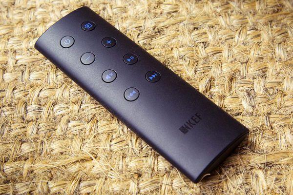 KEF LS50 Wireless aktív hangfal távirányító