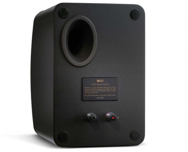 KEF LS50 hangfal Black Edition hátlap