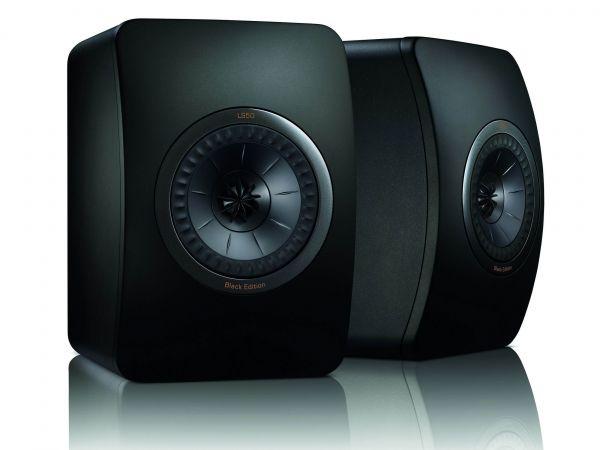 KEF LS50 hangfal Black Edition