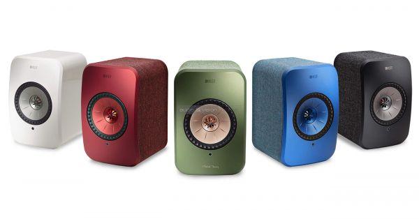 KEF LSX aktív hangfal színek