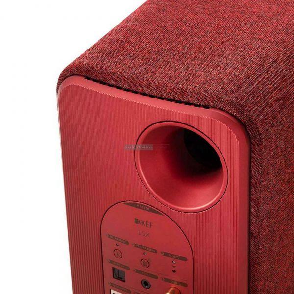 KEF LSX aktív hangfal hátlap