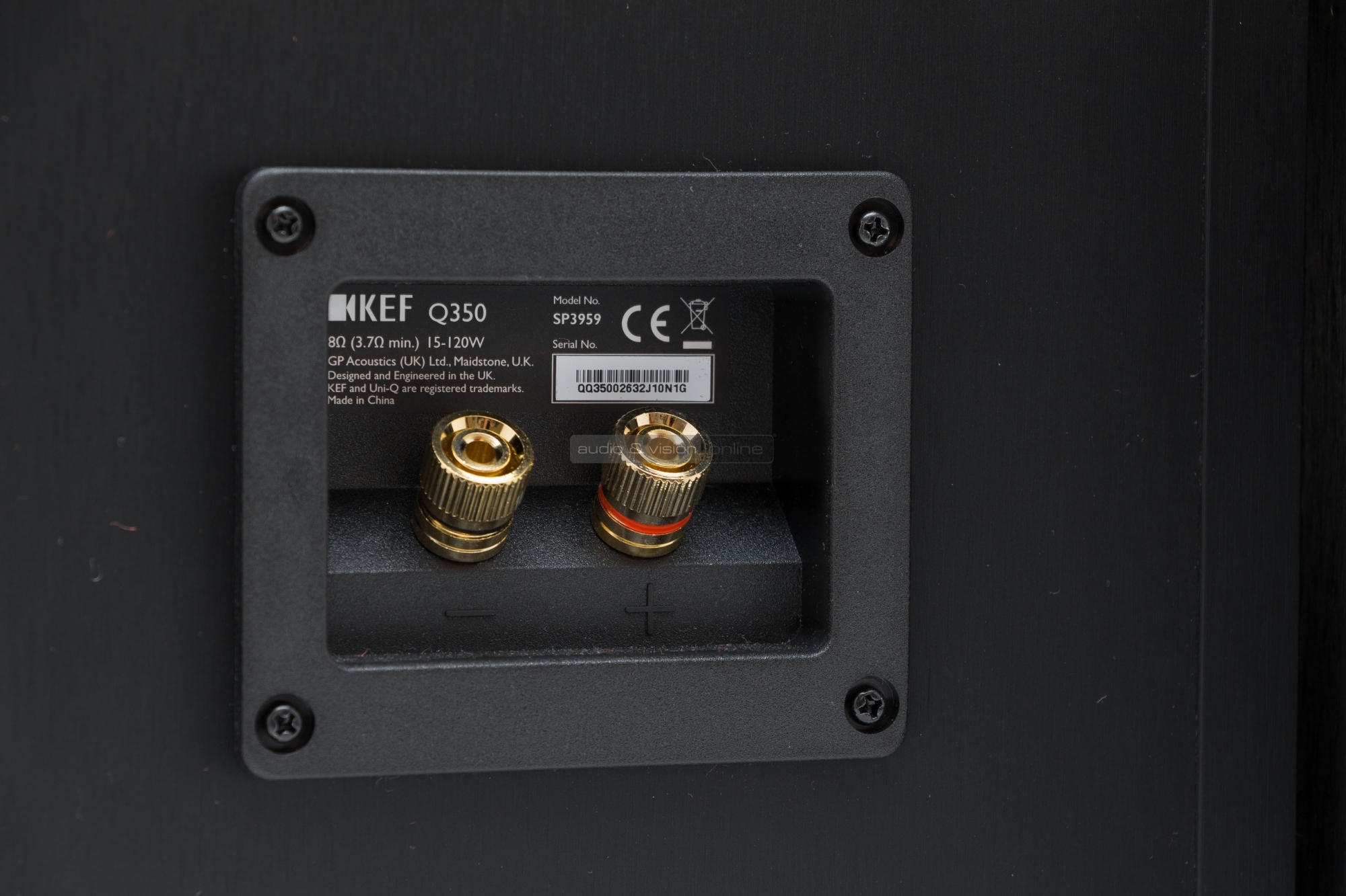 Kef Q350 Loudspeaker Amplifier Mono Subwoofer Bass Speaker Amp W Cable Wiring Kit Ebay Where The Is Manufactured