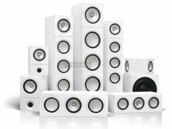KEF Q series hangfalak fehér színben