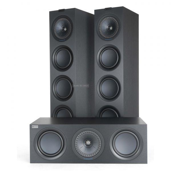 KEF Q750 hangfal és Q650 centersugárzó