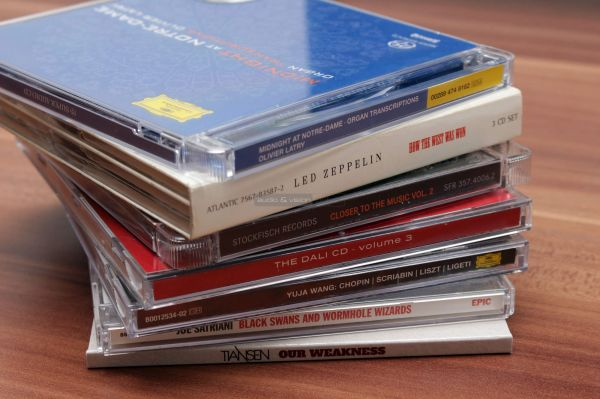 KEF R3 hangfal teszt CD