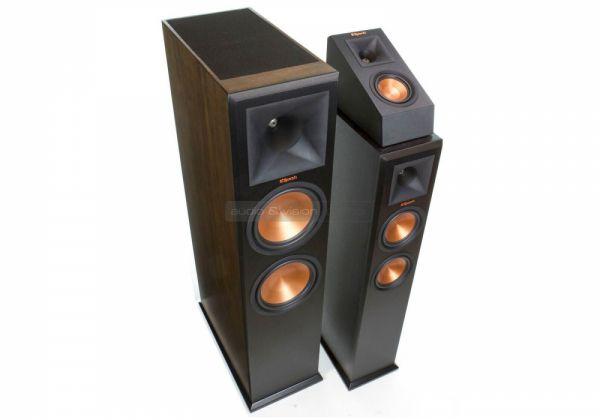 Klipsch RP-280FA Dolby Atmos hangfal és RP-140SA Dolby Atmos hangszóró