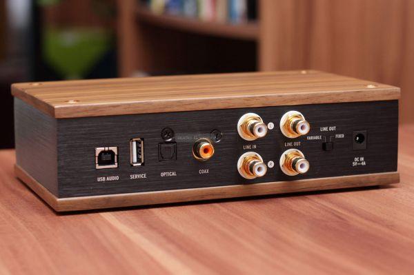 Klipsch Heritage Headphone Amplifier fejhallgató erősítő hátlap