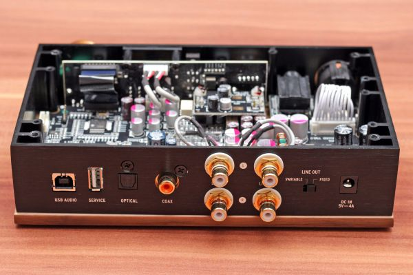 Klipsch Heritage Headphone Amplifier fejhallgató erősítő belső