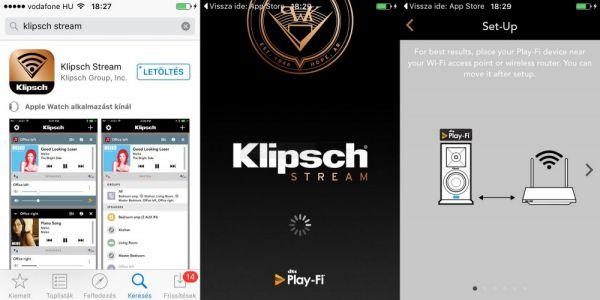 Klipsch Stream App