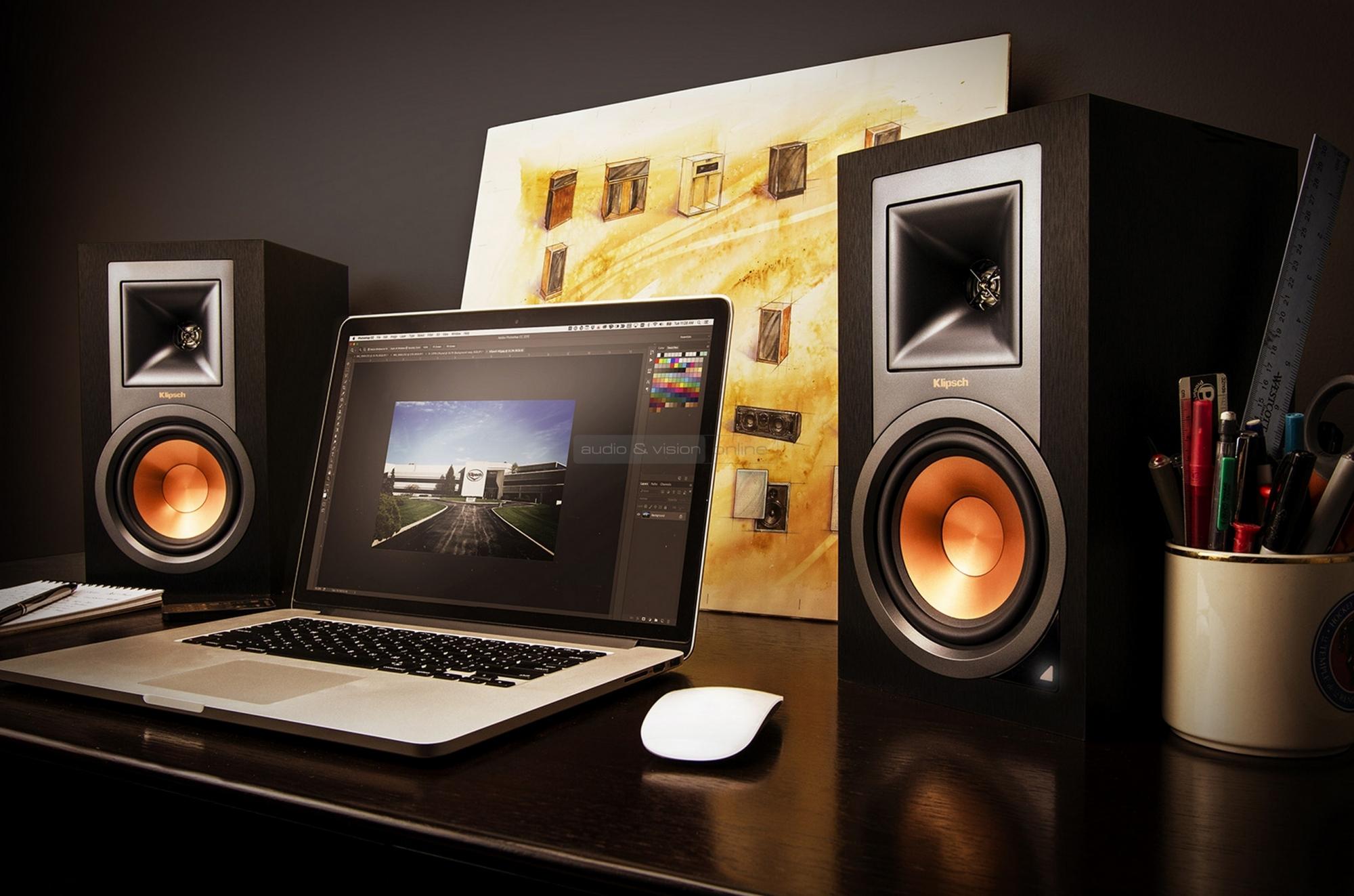 Klipsch R-15PM aktív hangfal teszt | av-online.hu