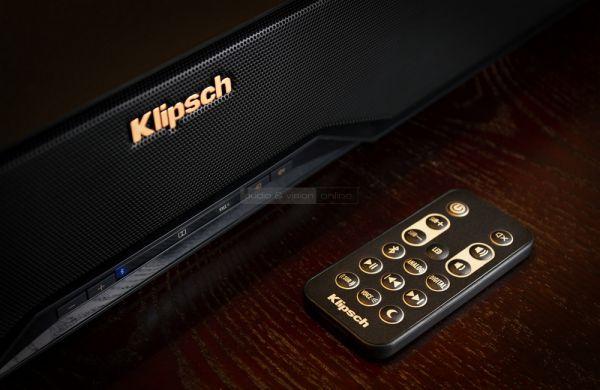 Klipsch Reference R-4B soundbar távvezérlővel